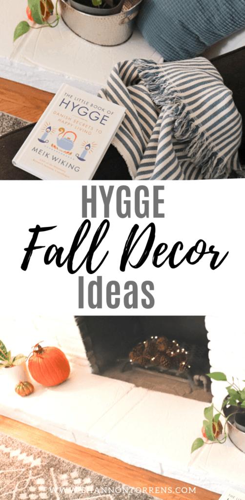 Hygge Fall decor ideas