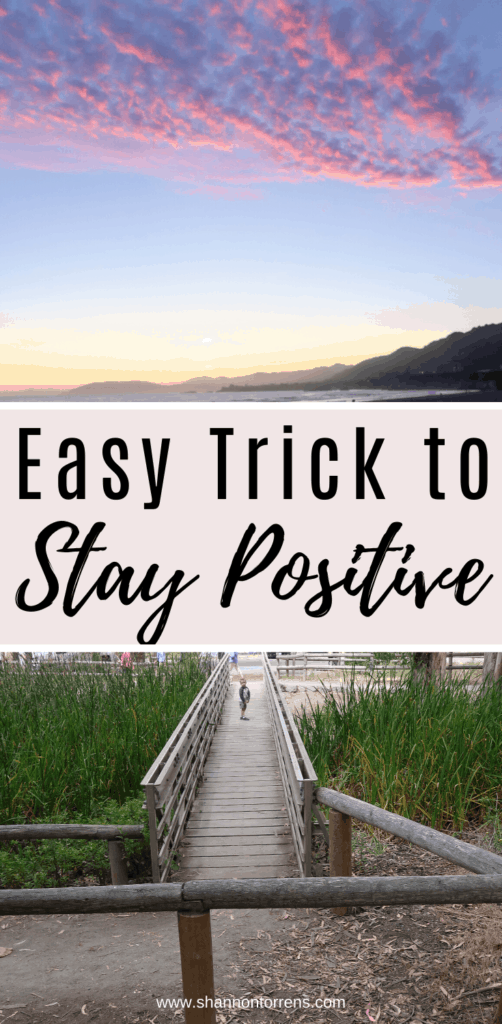 Intentional living stay positive 5by5 rule