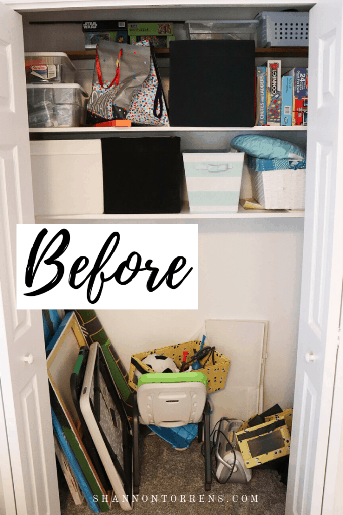 How to organize hall closets quickly and easily