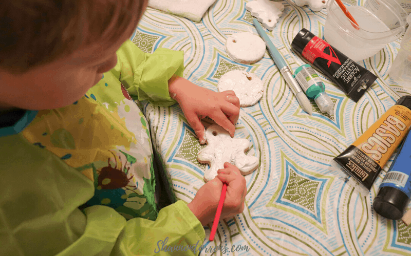 how to make salt ornaments