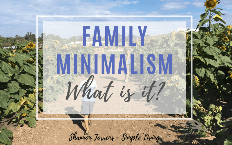 What is Family Minimalism