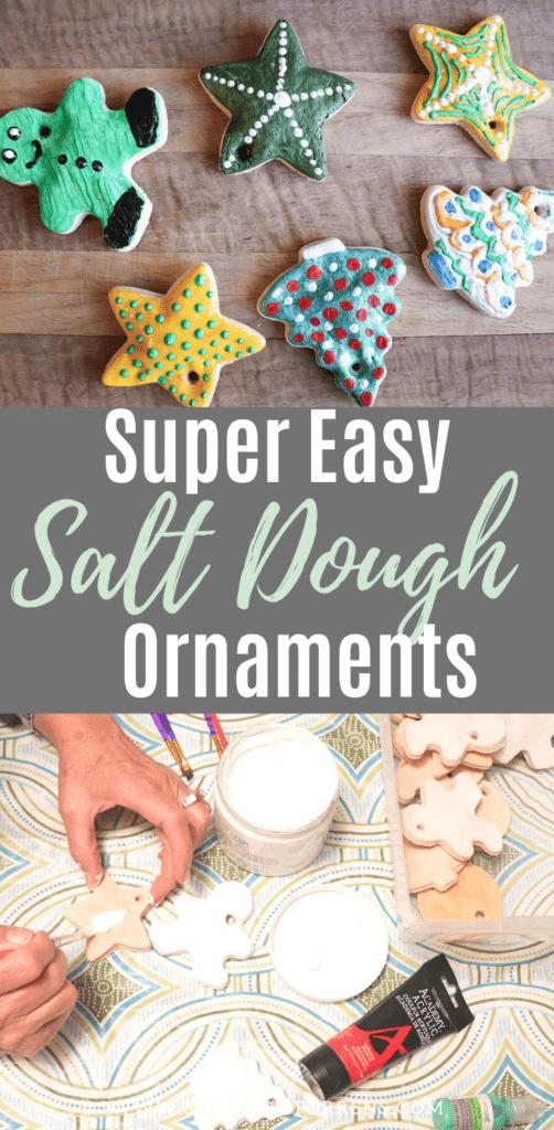 How to make simple Salt Dough Ornaments