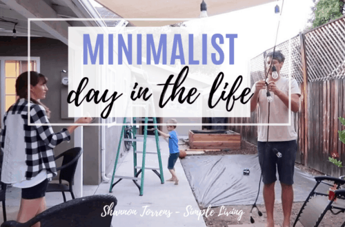 Minimalist Family Fall Day in the Life
