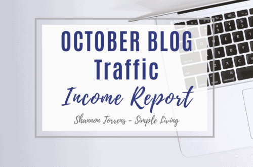 October Blog Income Report