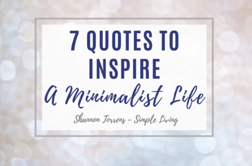 Quotes to inspire a minimalist life