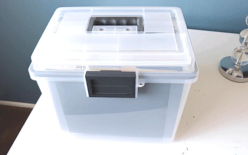 file box paper clutter