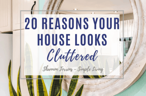 reasons your house looks cluttered