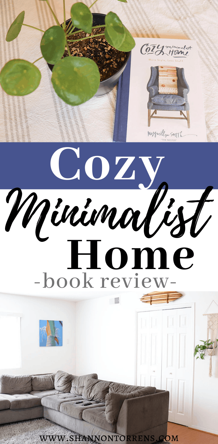 minimalist Cozy Home Book Review