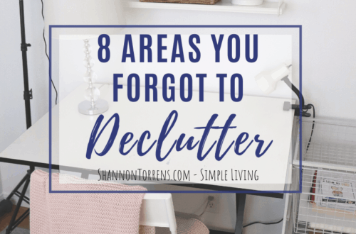 what you forgot to declutter