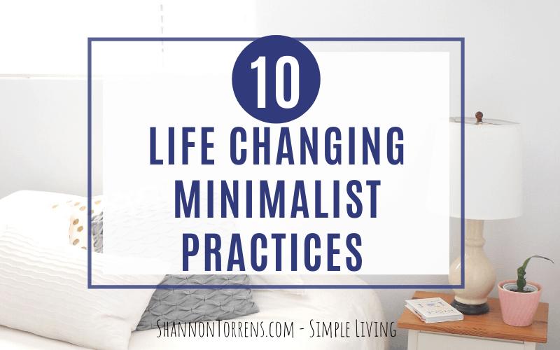 Minimalist Practices