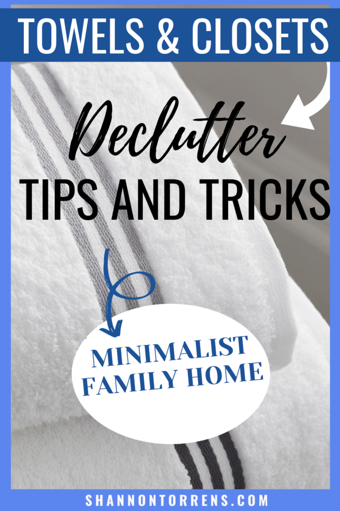 Declutter and Organize tips and tricks