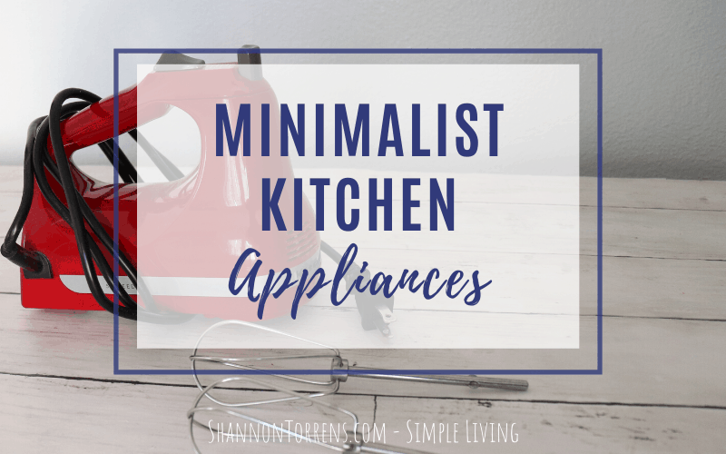 minimalist appliances