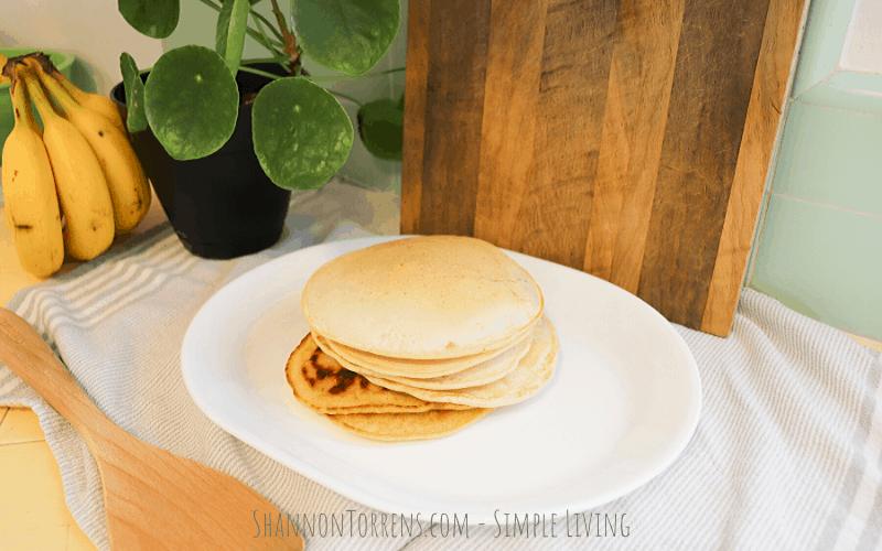 Simple Sourdough Pancakes