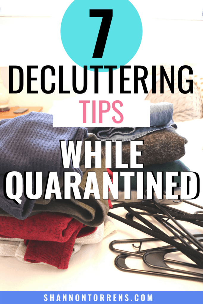 7 tips to Declutter
