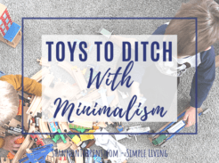 Toys to Ditch With Minimalism