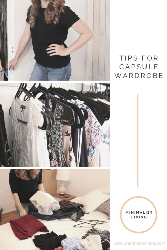 capsule wardrobe tips