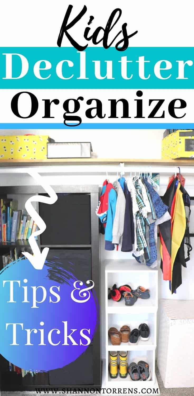 Rules for decluttering a kids room