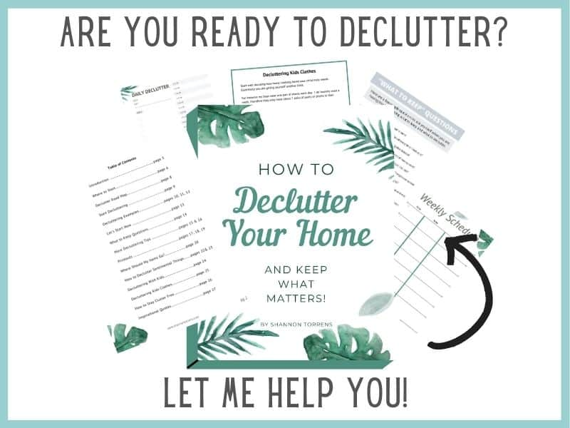 Declutter Your Home Minicourse