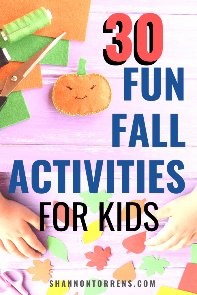 30 fun fall activities for kids