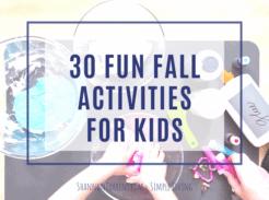 Fall Activities Kids