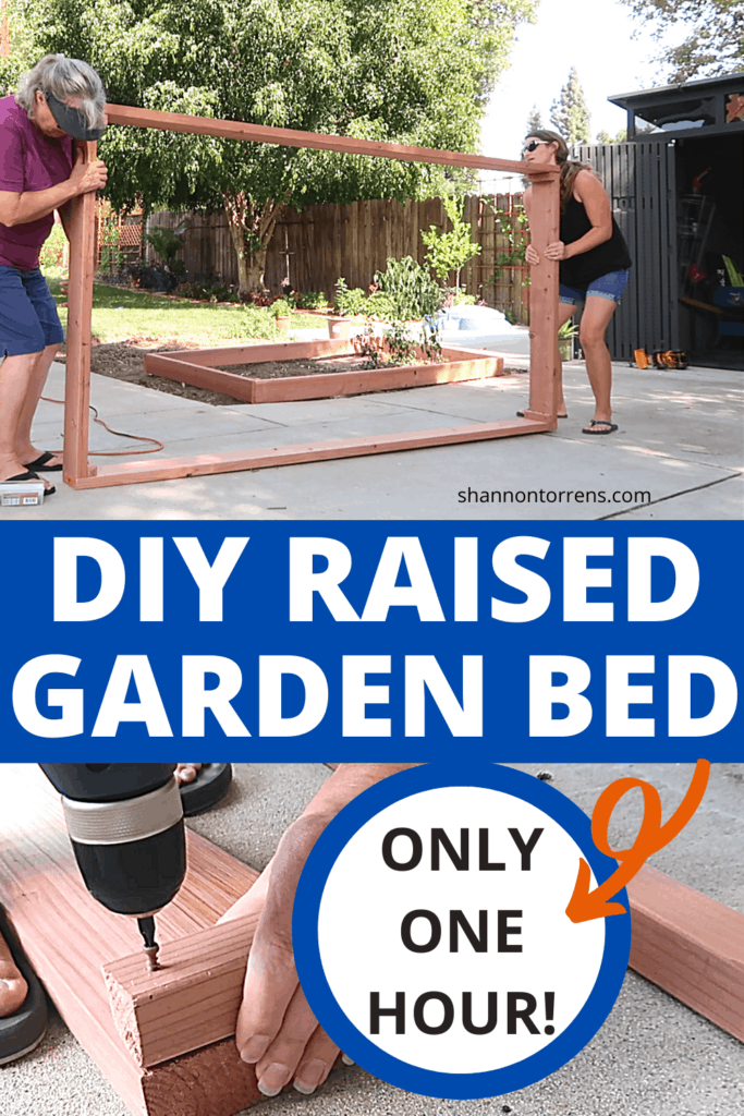 Easy Raised Garden Bed DIY