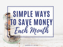 Ways-to-save-money-each-month