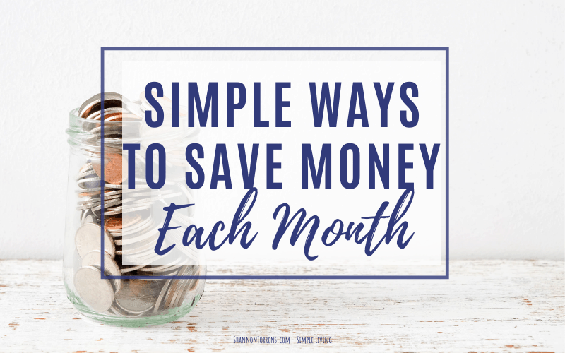 Ways-to-save-money-each-month
