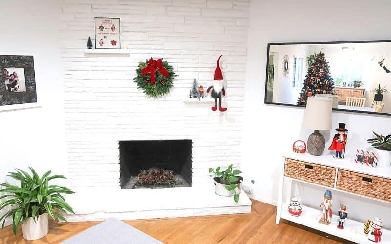 Livingroom Christas decor