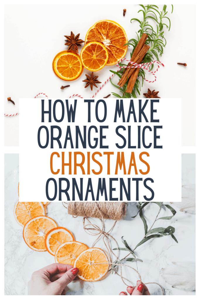 Orange Slice Christmas Ornaments