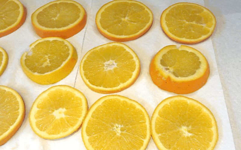 Orange Slices Christmas