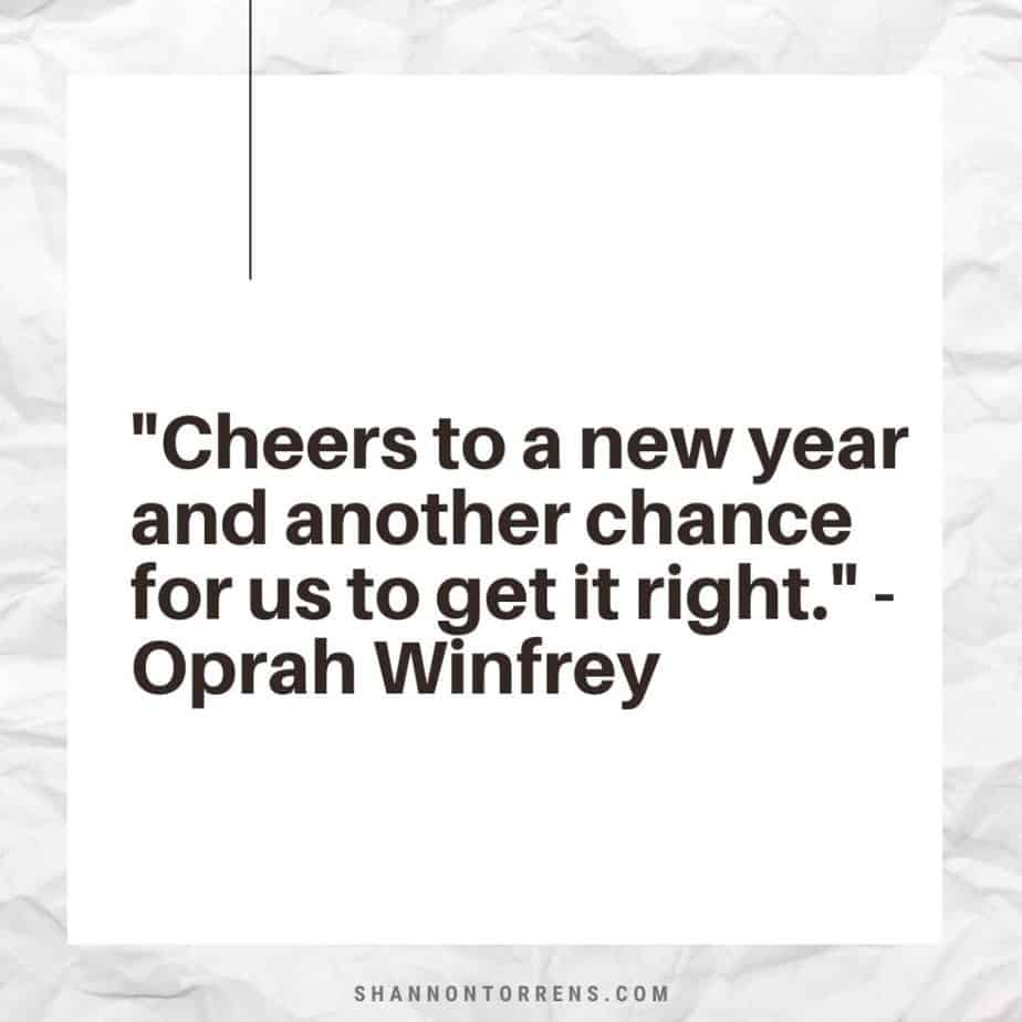 End of year quote