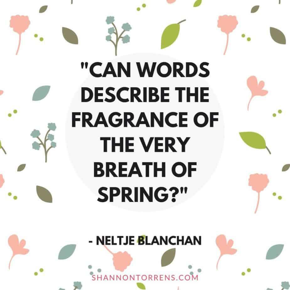 springtime quote