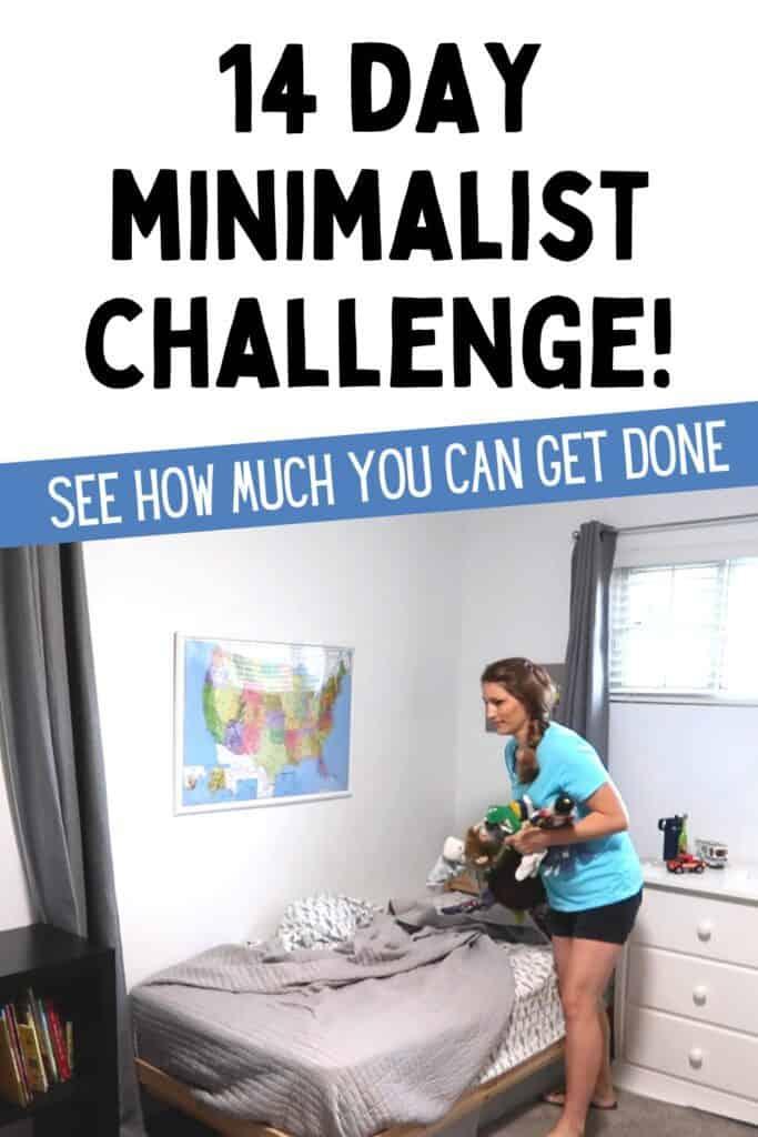 14 day minimalist challenge
