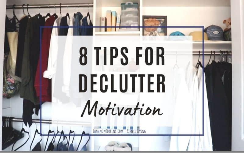 declutter motivation