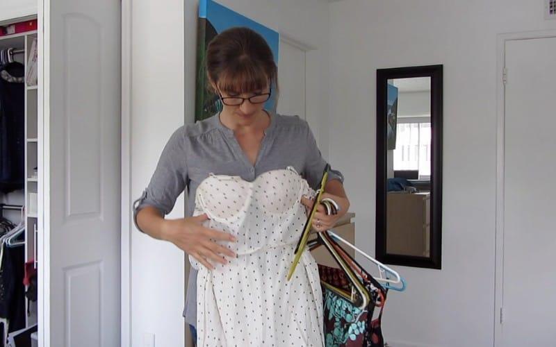 decluttering dresses
