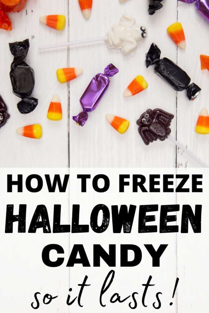 How to Freeze candy