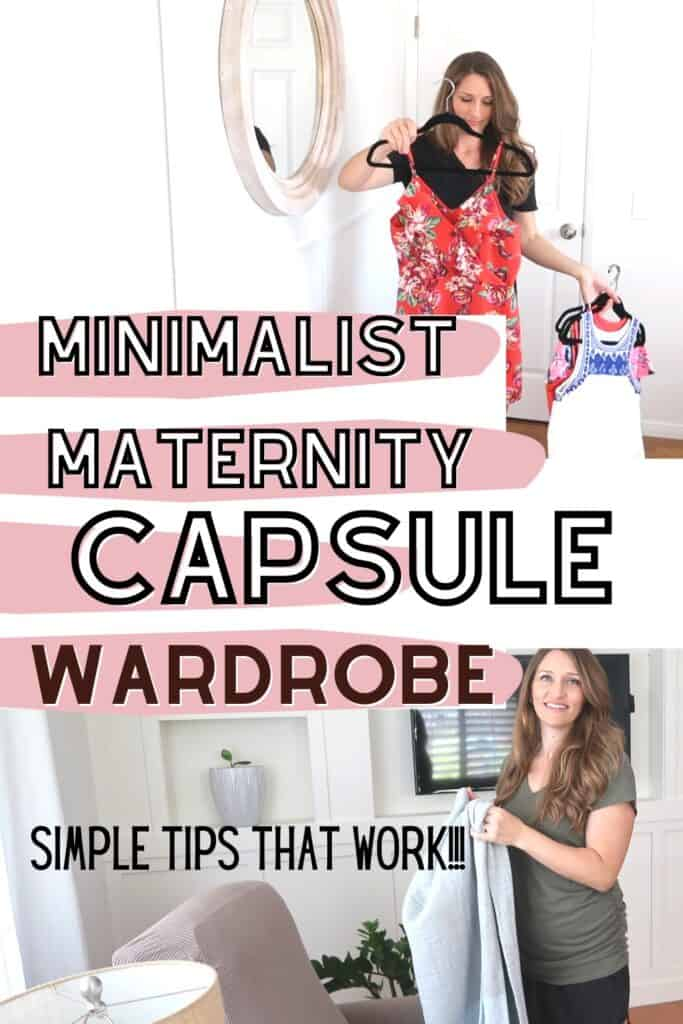 pregnant capsule wardrobe